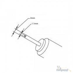 Fonte Notebook Samsung 19v 2.1a pino 3x1.1mm